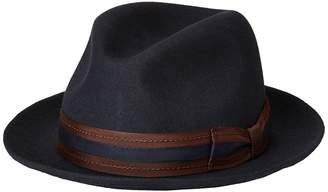 Stacy Adams Pinch Front Wool Fedora Fedora Hats