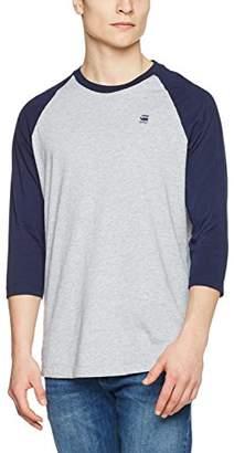G Star Men's Malizo R T 3/4 SLV Longsleeve T-Shirt