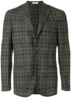 Boglioli classic checked suit jacket
