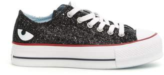Chiara Ferragni Glitter Converse Sneakers