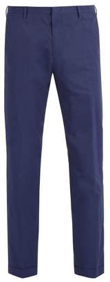 Paul Smith Classic Suit Cotton Trousers - Mens - Navy