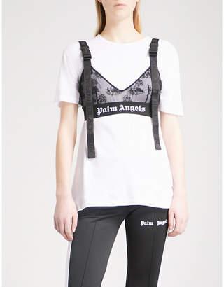 Palm Angels Island mesh bra