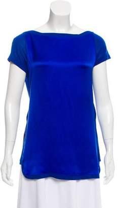 Gucci Silk Short Sleeve Top