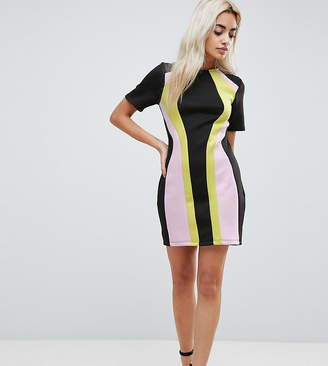Asos Color Block Mini Shift Dress