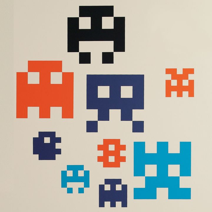 8-bit Arcade Stick Ons