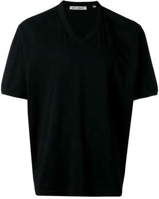 Our Legacy V-neck T-shirt