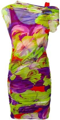 MSGM ruched short dress
