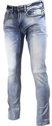 Buffalo David Bitton Men's Driven Straight Leg Stretch Denim Fashion Jean in 30 Inseam