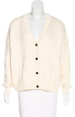 Demy Lee Wool Knit Cardigan
