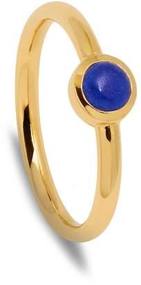 Lola Rose London - Curio Stud Stacker Ring Lapis Lazuli