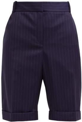 8133d0d0d840 Pallas X Claire Thomson Jonville X Claire Thomson-jonville - Epique Mid  Rise Pinstripe Wool