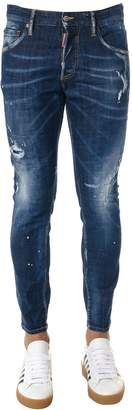 DSQUARED2 Blue Worn Out Jeans In Denim