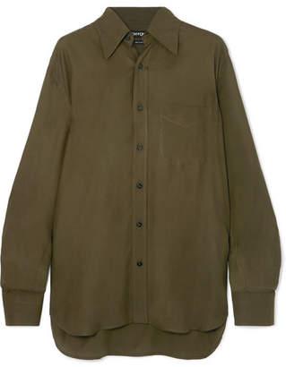 Tom Ford Twill Shirt - Green