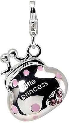Swarovski Amore La Vita Sterling Pink Crystal Handbag Charm