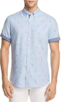 Jachs Ny Flamingo Regular Fit Button-Down Shirt - 100% Exclusive