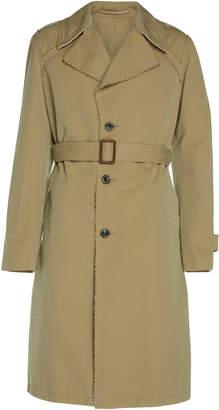 Maison Margiela Tonic Belted Cotton-Gabardine Trench Coat
