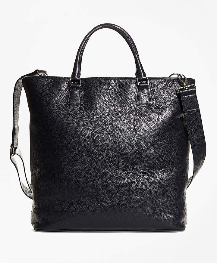 Brooks Brothers  Pebble Leather Tote