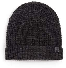 Bickley + Mitchell Faux Sherpa-Lined Thermal Cuff Beanie