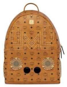 MCM x Wizpak Gunta M Studs Backpack