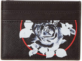 Christian Dior Floral Leather Card Case