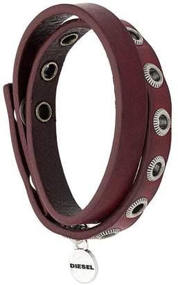 Diesel wrapped style bracelet