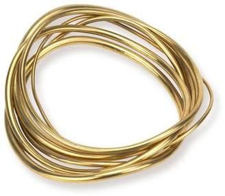 Soko Wavy Bangle Stack Bracelets
