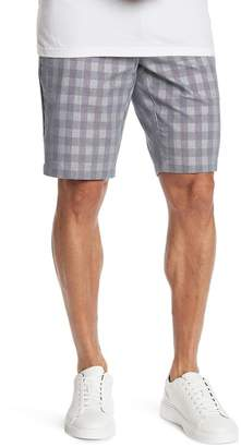 Ben Sherman Checkered Print Chino Shorts