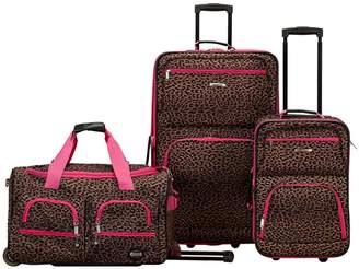 Fox Luggage Three-Piece Luggage Set