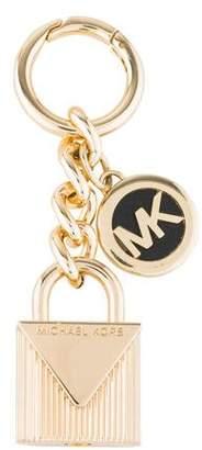 Michael Kors Lock Charm Keychain