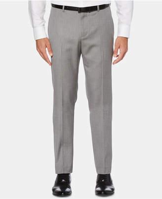 Perry Ellis Men Slim-Fit Herringbone Dress Pants