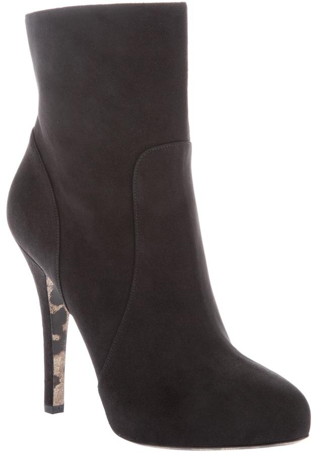 Dolce & Gabbana high heel boot