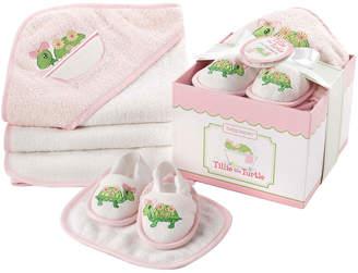 Baby Aspen Tillie The Turtle 4Pc Bathtime Gift Set