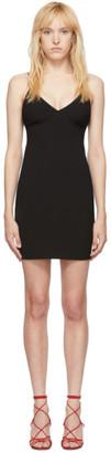 Alexander Wang Black Wash and Go Mini Dress
