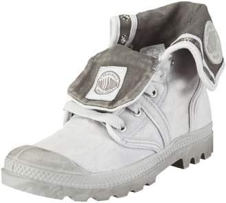 Palladium Pallabrouse Baggy Grey Womens Boots Size 6.5 UK