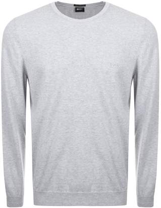 HUGO BOSS Pacas L Knit Jumper Grey