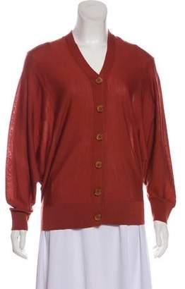 Acne Studios Wool Button-Up Cardigan