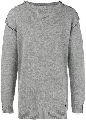 Loewe blanket stitch sweater