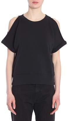 MM6 MAISON MARGIELA Sweatshirt With Cut Out Detail