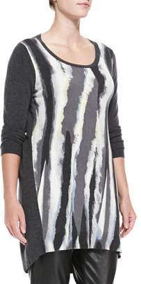 Marina Rinaldi Ginni Knit Long Tunic, Plus Size