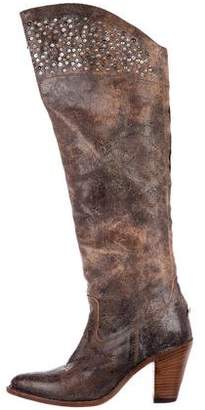 Frye Studded Knee-High Boots