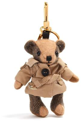Burberry Thomas camel trench-coat cashmere keyring