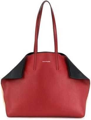 Alexander McQueen fold-in tote bag