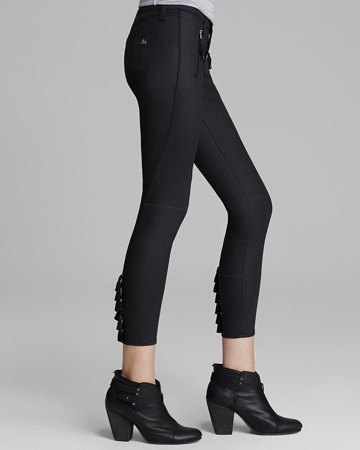 Rag and Bone Jeans - Tassel Jean Legging in Shoreditch