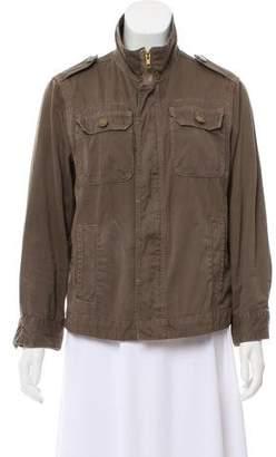 Current/Elliott Utility Zip Front Jacket