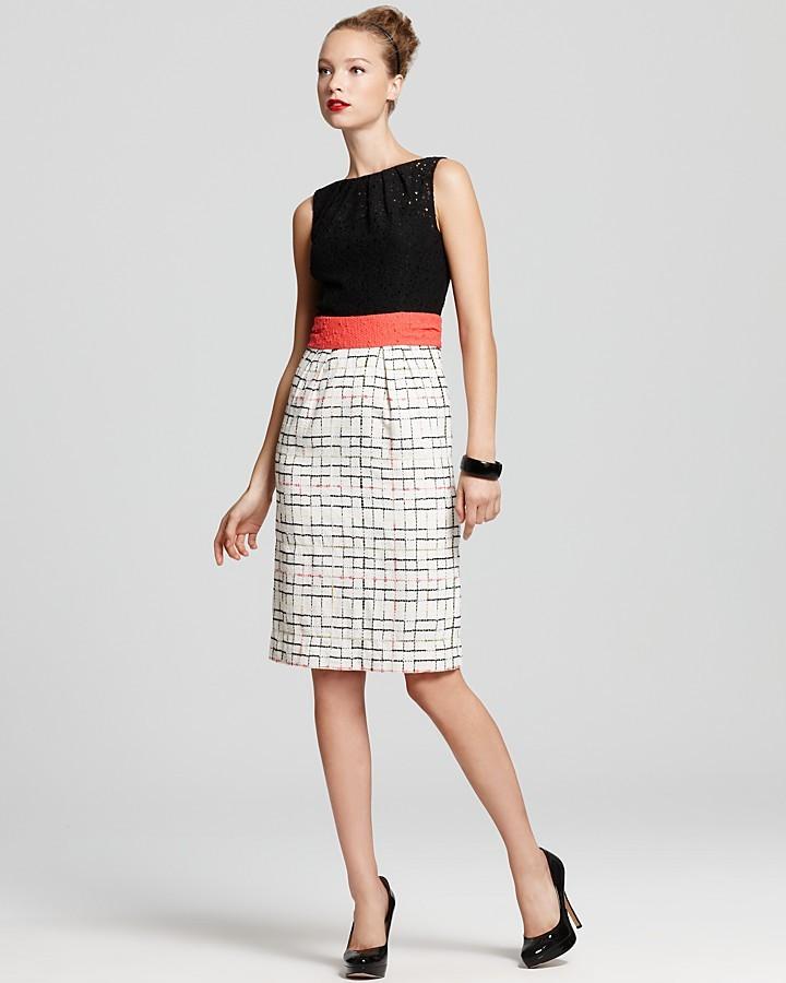 Milly Dress - Lily Tweed Bottom Dress