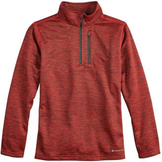 Tek Gear Boys 8-20 Thermal Fleece Quarter-Zip Top