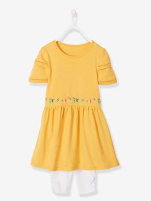 Vertbaudet Dress + Leggings Ensemble for Girls