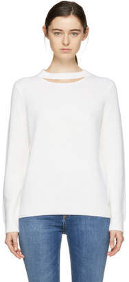Rag & Bone Ivory Tori Crewneck Sweater