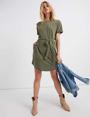 Lucky Brand Tie Front Knit Dress