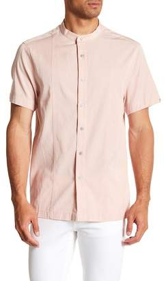 Kenneth Cole New York Blocker Short Sleeve Regular Fit Shirt